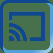 icoon chromecast