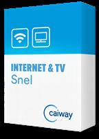 caiway internet en televisie pakket slim
