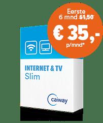 Internet en televisie slim